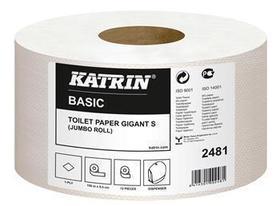 papier jumbo katrin 1-warstwowy szary