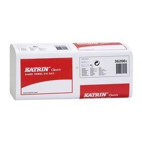ręcznik składany katrin 362002 1-warstwowy biały