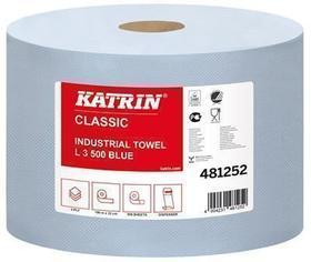 czyściwo przemysłowe 3-warstwowe niebieskie 500 listków