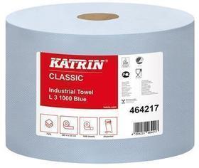czyściwo przemysłowe katrin L 3 niebieskie 1000 listków