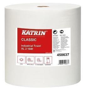 czyściwo przemysłowe katrin xl 2 1040 listków białe