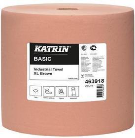 czyściwo przemysłowe katrin 1-warstwowe 1000m brązowe