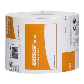 katrin papier toaletowy do dozowników systemowych 1-warstwowy naturalny