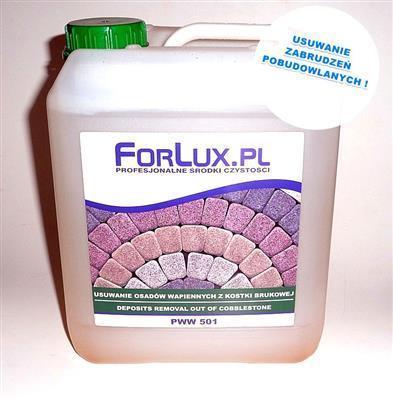 forlux pww kwasowy środek do mycia kostki brukowej