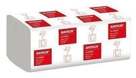ręcznik składany zz katrin biały 35298 handy pack