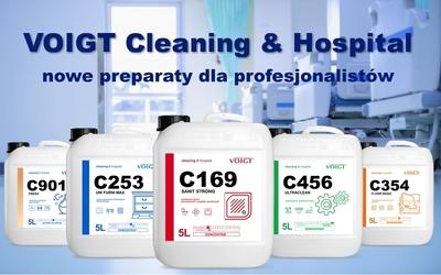 voigt cleaning&hospital nowa linia preparatów dla profesjonalistów
