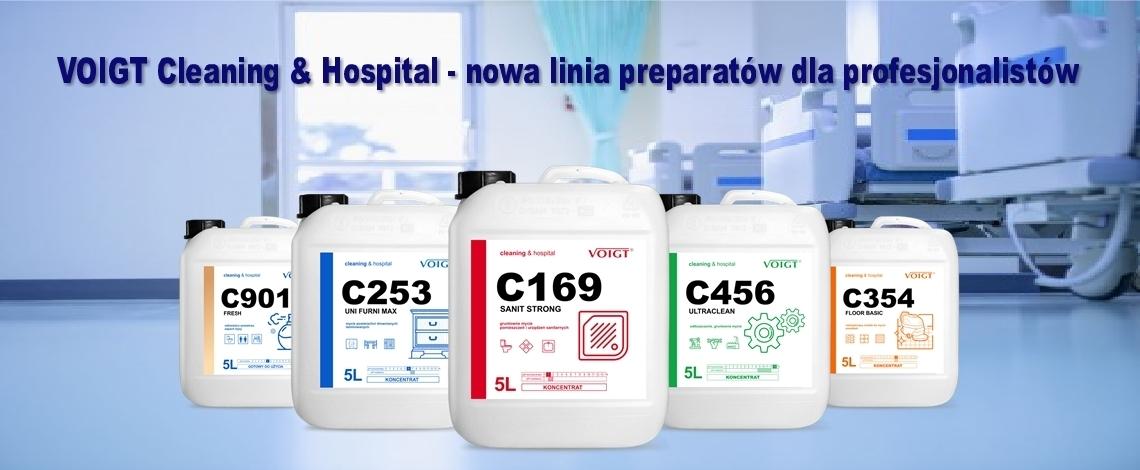 voigt cleaning & hospital środki czyszczące dla firm sprzątających, hoteli, szpitali, szkół i przedszkoli